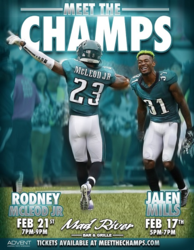 Meet The Champs: Philadelphia Eagles #31 Jalen Mills at Mad River!