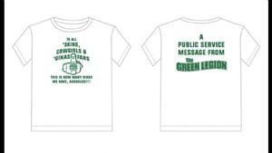 Green Legion Championship T-Shirts