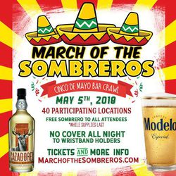 March of the Sombreros - Cinco De Mayo in Philadelphia