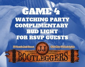 Sixers Game 4 Watching Party - JJ Bootleggers