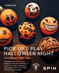Halloween Night @ SPiN