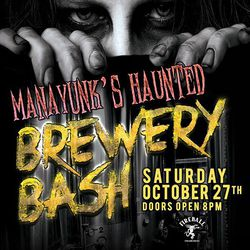 Manayunk's Haunted Brewery Bash