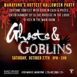 11th Annual Ghosts & Goblins Halloween Party in Manayunk