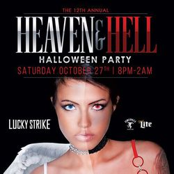 12th Annual Heaven & Hell Halloween Party