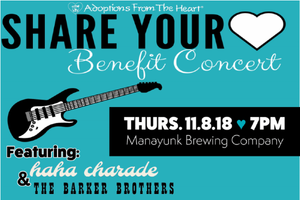 2nd Annual Share Your Heart Benefit Concert