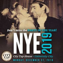NYE 2019 at City Tap House University City