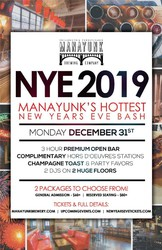 NYE 2019 - Manayunk's Hottest New Year's Eve Bash!