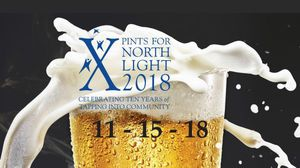 Pints for North Light