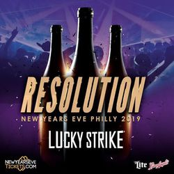 RESOLUTION 2019 - New Year's Eve at Lucky Strike