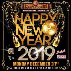 New Years Eve 2019 at JJ Bootlegger's