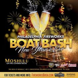 New Year's Eve Fireworks Boat Bash on The Moshulu