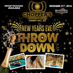 New Year's Eve Throw Down at Chopper's Cherry Hill