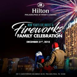 New Year's Eve Buffet & Fireworks Family Celebration