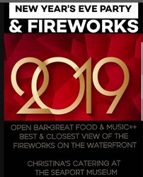 NYE Waterfront Fireworks Party at the Seaport Museum Philly on the River