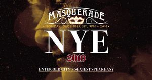 New Year's Masquerade at Infusion Lounge