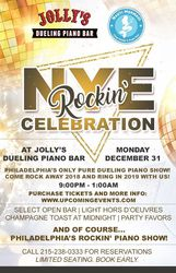 New Year's Eve at Jolly's Dueling Piano Bar
