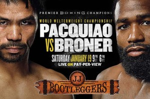 Pacquiao vs Broner Fight in Philadelphia