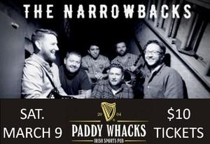Paddypalooza at Paddy Whacks South Street - LIVE IRISH MUSIC