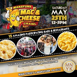 Manayunk Mac and Cheese Crawl