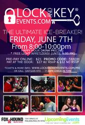 June 7th Philadelphia Lock and Key Singles Event!