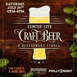 Center City Craft Beer and Restaurant Stroll