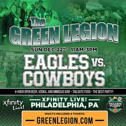 Eagles vs. Cowboys - The Green Legion Tailgate with Hollis Thomas!