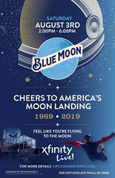 Blue Moon Fly Me To The Moon - Philadelphia