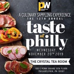 Taste of Philly - The 12th Annual Culinary Sampling Experience!