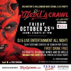 The Devil's Crawl - Arlington