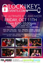 Oct 11th Philadelphia Lock and Key Singles Event!