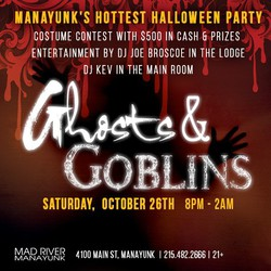 12th Annual Ghosts & Goblins Halloween Party in Manayunk