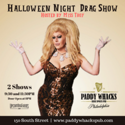 Miss Troy Halloween @ Paddy Whacks South St.