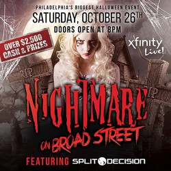 Nightmare on Broad Street Halloween Bash