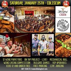 Evansville Wing & Music Festival - 3rd Annual