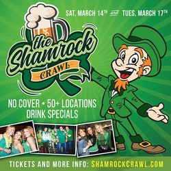 The Shamrock Crawl & St Patrick's Day Bar Crawl in Philadelphia 3/14 & 3/17