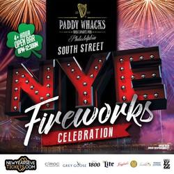 South Street New Year's Eve Fireworks Celebration