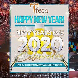 New Year's Eve 2020 at Teca in West Chester