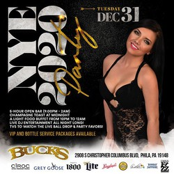 New Year's Eve 2020 at Bucks Cabaret