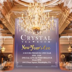 NYE 2020 at Crystal Tea Room