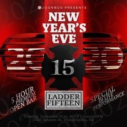 NYE 2020 at Ladder 15
