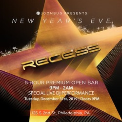 NYE 2020 at Recess Lounge
