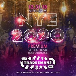 NYE 2020 at Trademan's