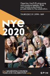 Roaring 20s New Year's Eve Celebration at SPiN