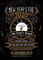 NYE 2020 at Goat's Beard