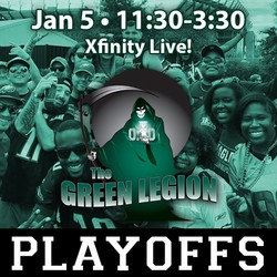 Eagles Playoff Game 1 - The Green Legion Tailgate with Hollis Thomas!