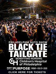 Black Tie Tailgate 2020 - Philadelphia's Premier Auto Show Event