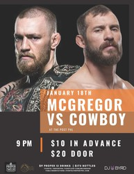 McGregor vs. Cowboy @ The Post