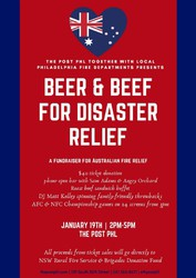 Beer & Beef for Disaster Relief @ The Post