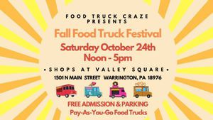 The Shops at Valley Square Fall Food Truck Festival