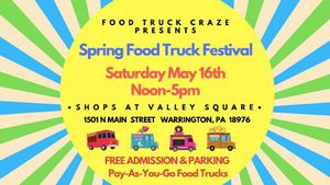 The Shop at Valley Square Spring Food Truck Festival